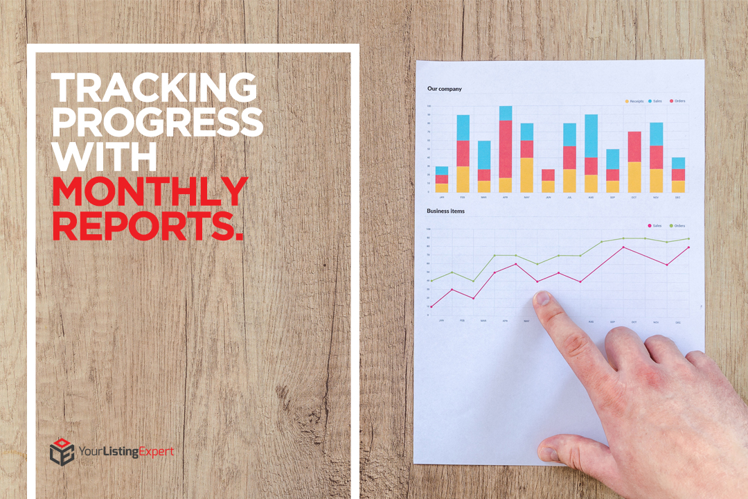 Tracking Progress With Monthly Reports
