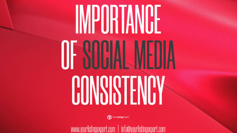 Importance of Social Media Consistency