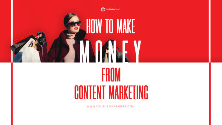 How to Make Money from Content Marketing