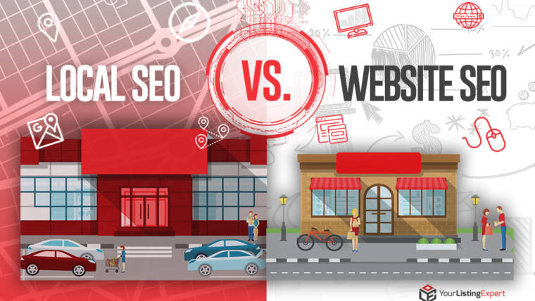 LOCAL SEO VS. WEBSITE SEO